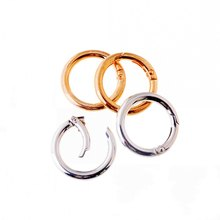 Free Shipping-2Pcs Unwelded Leather Bag Metal Crafts DIY Ring Clasp 35mm(Inside: 25mm ) Connect Buckle
