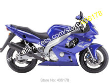 Hot Sales,Tank For YAMAHA 97-07 YZF600R Thundercat 97 98 99 00 01 02 03 04 05 06 07 YZF 600R YZF-600R Dark Blue Fairing kit
