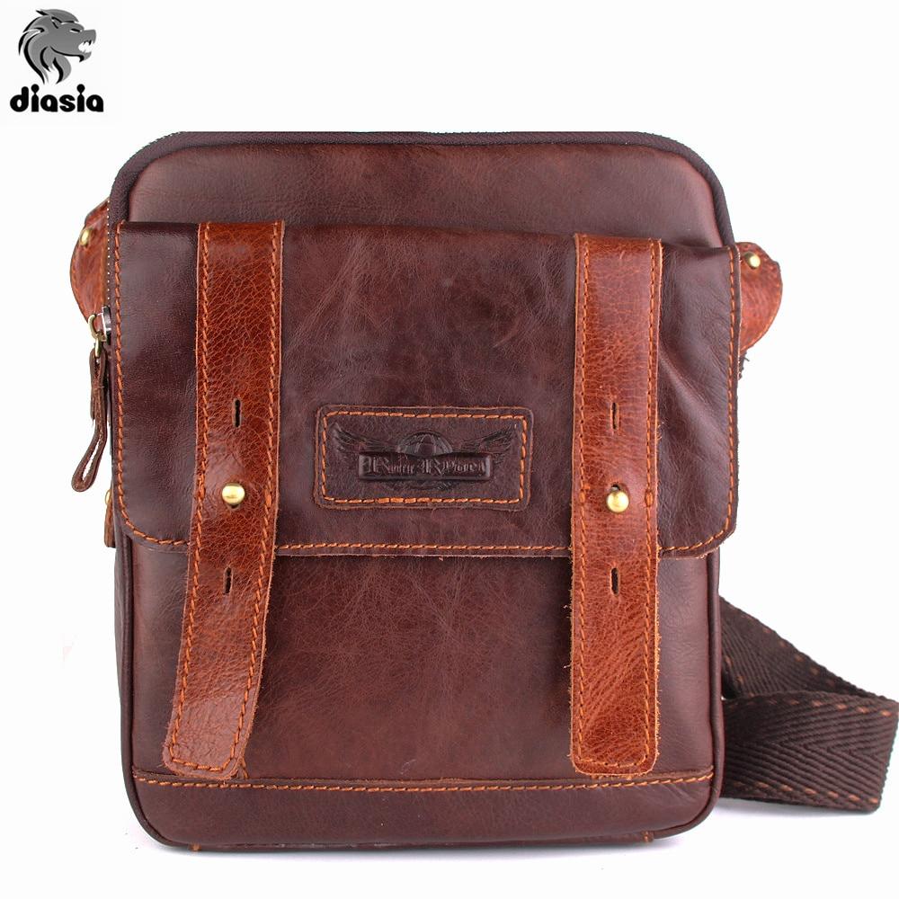 OU BA SHU Brand Design Genuine Oil Wax Leather Men Bags For Fashion Handbags Shoulder Vintage Retro Men Messenger Bags Briefcase<br><br>Aliexpress