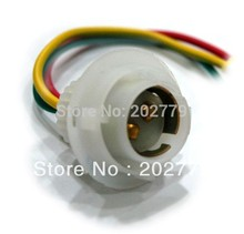 10pcs S25 ba15d double  lamp socket  Heat Resistance for tail and side lamp