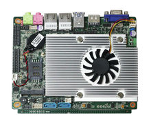 HM77 high performance mainboard mini linux embedded pc board with VGA resolution maximum up to:2048*1536.(China)