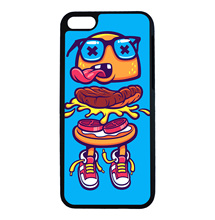 Hamburg Crazy Baby Pop Art Cool For iPhone 6 6s 7 Plus Case TPU Phone Cases Cover Mobile Protection Decor Gift