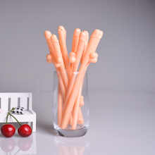 10Pcs Sexy Hen Night Willy Drinking Penis Novelty Nude Straw Sipping Straws For Bar Party Accessories Penis Drinking Straws