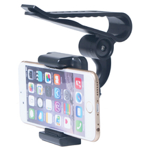 Clip Rotary Car Sun Visor Mobile Phone Holders Stands Mounts For Xiaomi Redmi Note Note 2 Note 3 Note 4,Asus Zenfone 3 3s Max