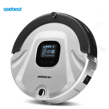 Seebest EVA 2.0 High Class Robotic Vacuum Cleaner with V Rolling Brush and UV Lamp, Cleaner for Carpet, C565(China)