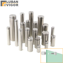 Stainless steel advertising screws/Decorative nails,Acrylic support,Billboard nail,Different size , Mirror/Glass nails