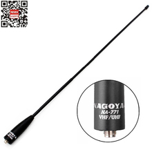 Genuine Nagoya NA-771 SMA Female Dual Band Antenna For Kenwood Baofeng UV-5R UV-6R GT-3 UV-82HX DM-5R PLUS Wouxun Portable Radio(China)