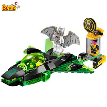 Bevle Decool 7109 DC Super Hero Green Lantern Submarine Figure Bricks Building Block Toys Kid Gift Compatible with Lepin