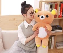 20cm/35cm Supe cute Rilakkuma bear teddy plush dolls stuffed animal soft baby toys for Children