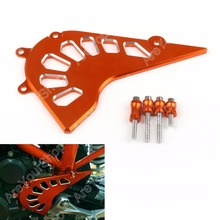 Sale Motorcycle Bike Orange Front Guard Chain Maintenance Cover For KTM DUKE 390 Tools CNC Aluminium