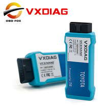 2017 New VXDIAG VCX NANO for TOYOTA TIS Techstream V10.10.018 Compatible with SAE J2534 with Multi-languages Free shipping