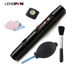 Lenspen 5 In 1 Cleaning Pen Set Piece Suit Lens Air Blowing Cleaning Cloth Lens Cloth Spirit  Hot Shoe Lens Brush for camera len