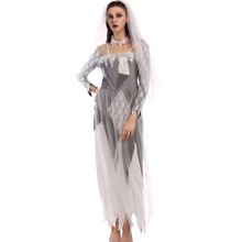 2017 New Sexy Ghost bride Costume For Women Adult Halloween Costume Halloween Party Outfit Fancy Cosplay Dress W531810