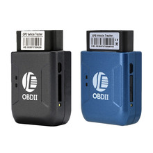 New GPS TK206 OBD 2 Real Time GSM Quad Band Anti-theft Vibration Alarm GSM GPRS Mini GPRS Car Tracker Tracking OBD II(China)