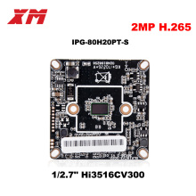 2017 New Arrival Megapixel 2.0 Megapixel H.265 IP Camera Module Board 1080P CCTV Camera IP Chip Board Mobile Phone View(China)