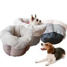 Soft Cat Bed Kitten Nest Luxury Dog Kennel Puppy House Bed For Dog Cozy Kitten Cage Pet Supplies Warm Pet Mat PDF6411