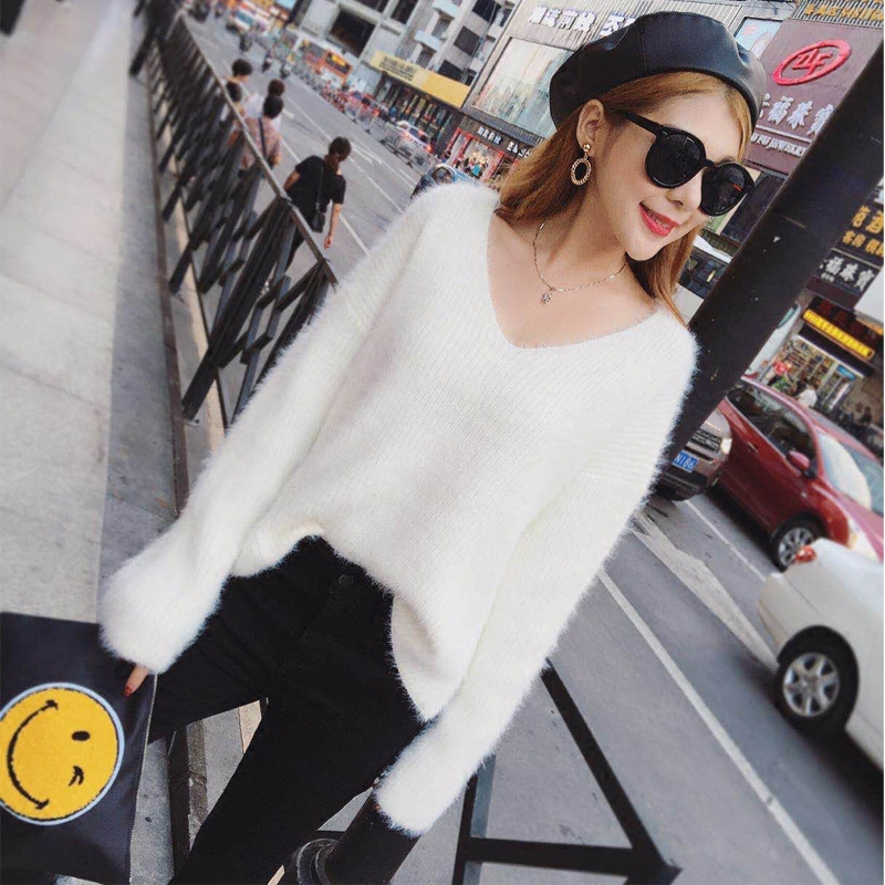 Online Get Cheap White Fuzzy Sweater -Aliexpress.com | Alibaba Group