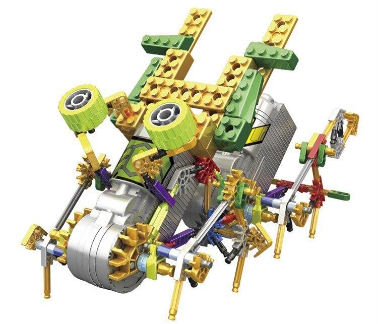 1PC 3022 Plastic Electric Block Mechanical Robot Blocks Action Mini 3D Bricks Education Toys For Children<br><br>Aliexpress