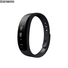 WristBand H8 inteligente Bluetooth Smart Bracelet Support Sleep Monitor Mileage monitor Anti-lost for iPhone 6 Samsung(China)
