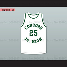 LANSHITINA Shawn Kemp 25 Concord Junior High School Basketball Jersey(China)