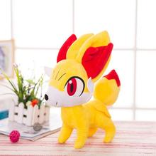 Fennekin plush toys for Children girlfriend gifts lovely stuffed doll Anime Soft(China)