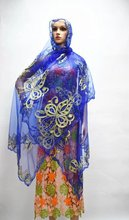 african scarf french fabric Women African head wraps Silk scarfs 2017 famous scarf shawl and cheap silk scarves royal blue bin16