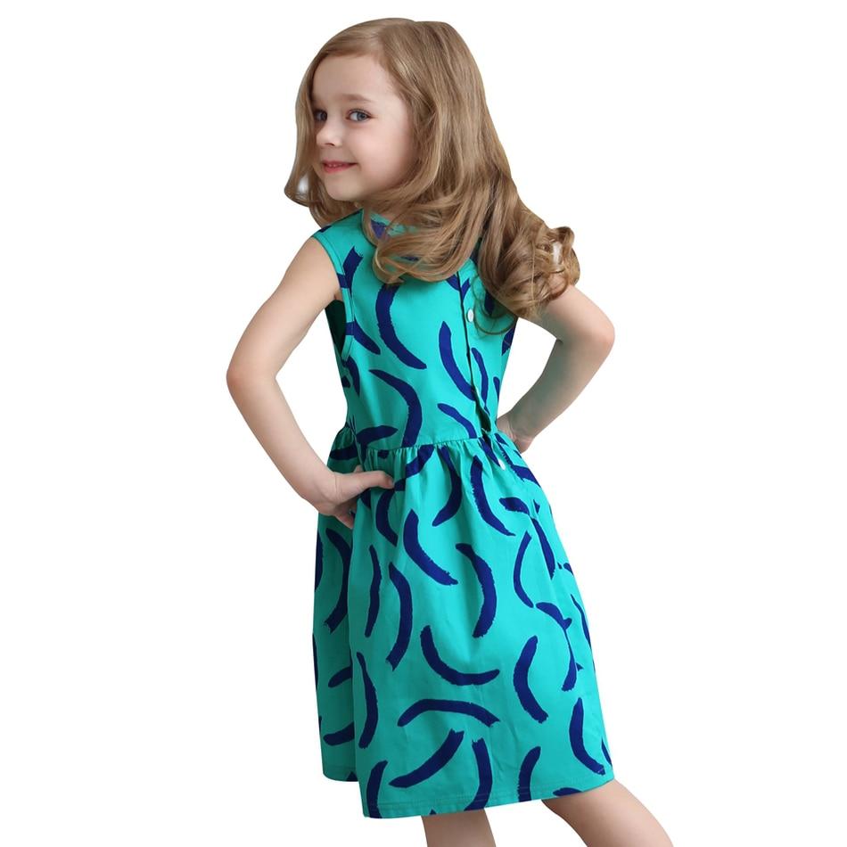 Girls Dress Summer 2016 Kids Clothes Cotton Children Clothing for Girls Toddler Summer Beach Party Holiday Brand<br><br>Aliexpress