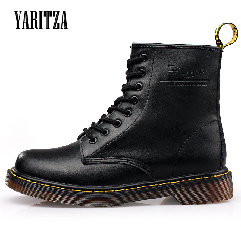 YARITZA 2017 New Fashion Women Riding Boots Spring Winter Fur Or No Fur Snow Leather Boots Women Winter Boots Unisex boot Shoes<br><br>Aliexpress