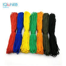 100FT 31 Meters Dia. 2mm one stand Cores Paracord for Survival Parachute Cord Lanyard Camping Climbing Camping Rope Hiking(China)