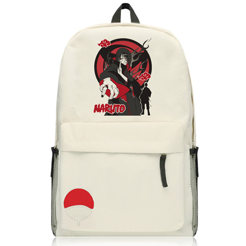 Anime NARUTO Backpack Oxford Travel Bag Uzumaki Naruto Uchiha Sasuke Cosplay Student Shoulders Schoolbag<br>