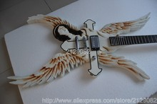 Newly arrived high quality ESP Angel Wings Electric Guitar Ebony fingerboard free shipping