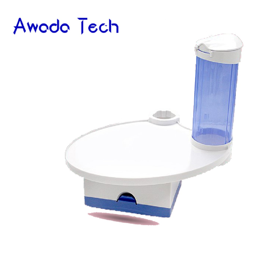AwadaTech dental Chair Tray Cup Storage Holder Dental Tray mesa Teeth Whitening laboratory equipment<br>