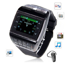 Wrist Watch Cell Phone V6 Watch Phone 1.33 inch Touch Screen Touch Dedicated Key 88
