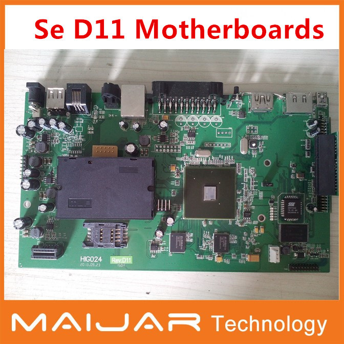 1pc free shipping  Se D11 Motheboards for Sunray800se newdvb800se estar800se<br><br>Aliexpress