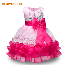 Baby Embroidered Formal Princess Dress for Girl Elegant Birthday Party Dress Girl Dress Baby Girl Christmas Clothes