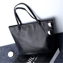Buy NIBESSER Simple Women Shoulder Bags PU Leather Large Capacity Casual Tote Handbags Women 2017 Ladies bolsas feminina for $5.96 in AliExpress store