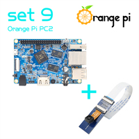 Orange Pi PC2 set 9 :Pi PC2 and Camera with wide-angle lens not for raspberry pi 2