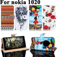 PU Leather Cases For Nokia Lumia 1020 Mobile Phone Bags Housings Covers For Nokia Lumia 1020 Wallet Flip Shell Case Cover Hood