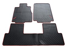 special rubber texture dedicated waterproof non slip easy clean car mats thicker section for CRV year model