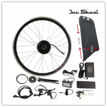 "20"" 26"" 700C(28"") 48V10AH Lithium Battery Electric Bicycle Kit Front Wheel Motor 350W/500W Power Electric Bicycle conversion Kit"