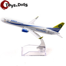 Collectible Airplane Model 16cm Passenger Plane Model Boeing 737-800 HK-4623 Colombia Airplane Diecast Model Aircraft Kids Toys(China)