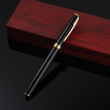 Factory Wholesale Luxury Brand High Quality Metal Roller Ball Pen For Office Business Writing Free Shipping 2504