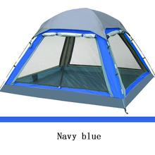 Camping Tent 4 person Summer Outdoor Equipment Single Family Tourism Beach Tents Three-season Waterproof