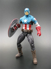 A series of Marvel toys. Marvel Universe~The ultimate cosmic version Captain America. Model toys