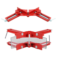 Newest 90 Degree Right Angle Clamp 100MM Mitre Clamps Corner Clamp Picture Holder Woodwork Frame Clip Best Price