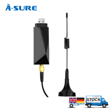 A-Sure Universal USB 2.0 Digital DAB+ Radio Tuner Receiver Antenna Aerial BOX for Android 5.1/4.4 Car Radio in Europe countries(Hong Kong)