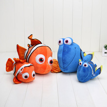 21cm - 40cm Movie Finding Plush Fish Clownfish Nemo Stuffed & Plush Animals Toys Stuffed Animals & Plush Doll Plush Toys