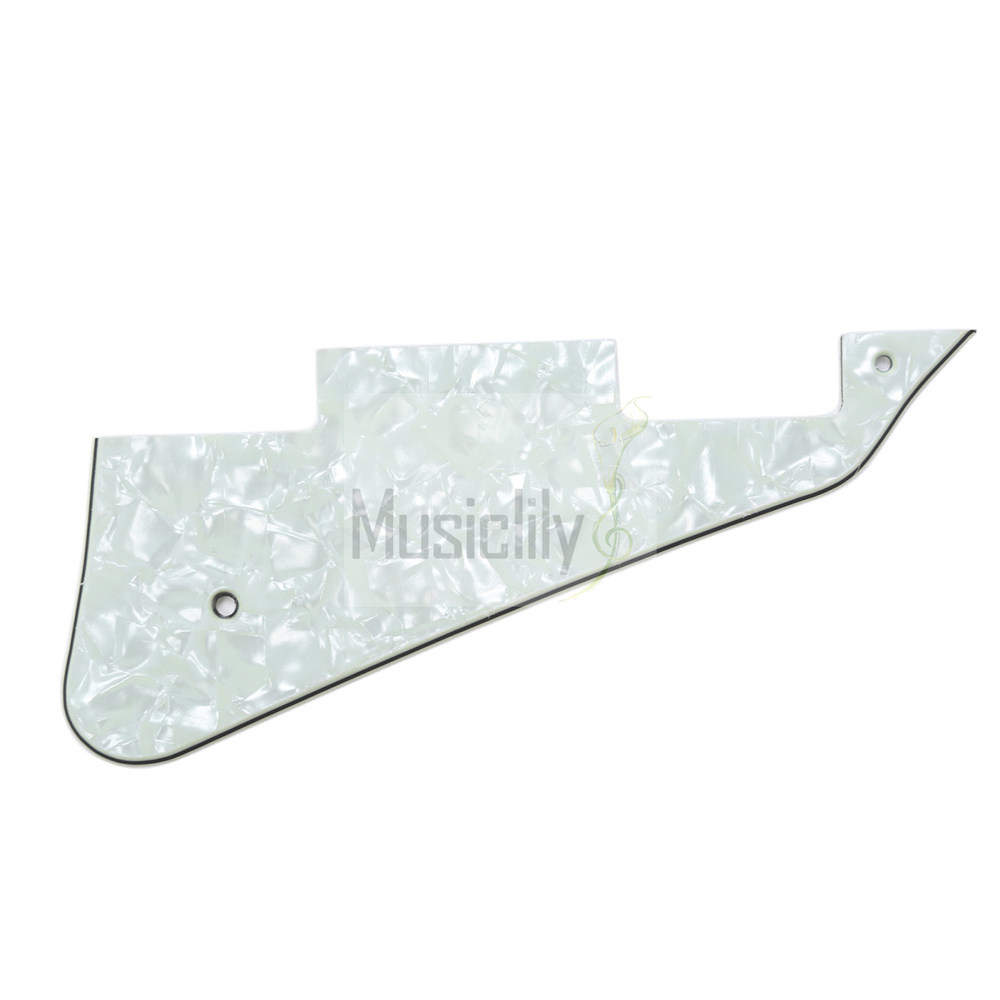 Pearl Mint 4Ply LP Guitar Pickguard For GibsonLes Paul Modern Style<br><br>Aliexpress
