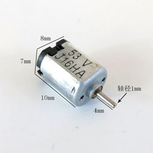 J011b K10 Mini DC Motor Low Speed for DIY Model Making Samll Handmaking Moto Battery-operated fan Free Shipping Brazil Australia