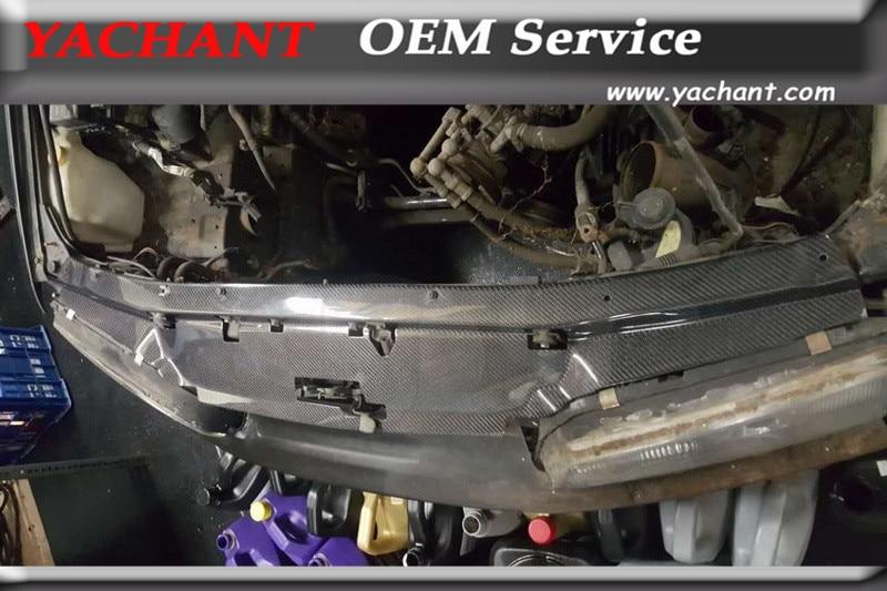 Cooling Radiator Slam Panel Interior Carbon For Nissan Skyline R32 GTR OE Style